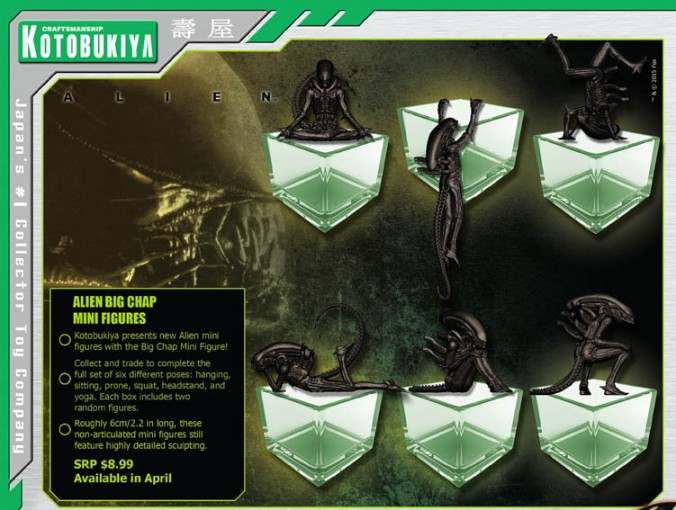 Alien Mini Figures A