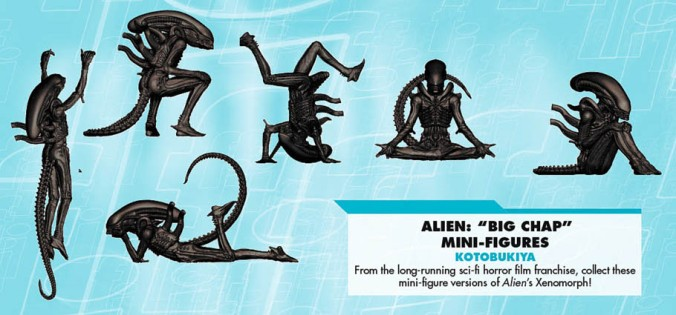 Alien Mini Figures B