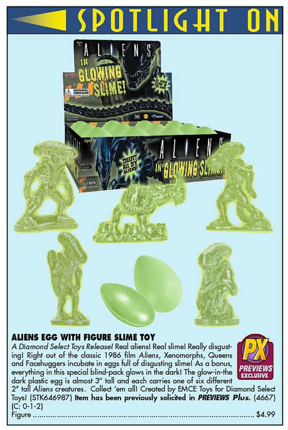 Aliens Slime (Previews 327)