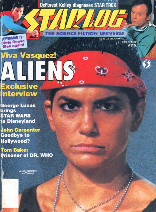 """""""Starlog"""" 115 (febbraio 1987)"""