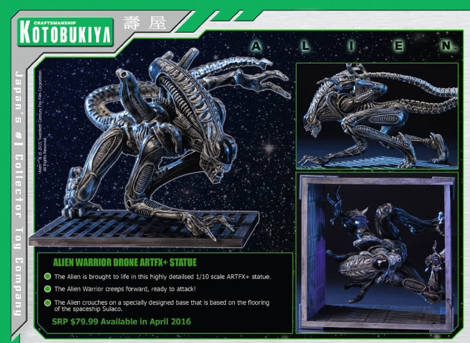 Kotobukiya (Previews 326, 2015-11)