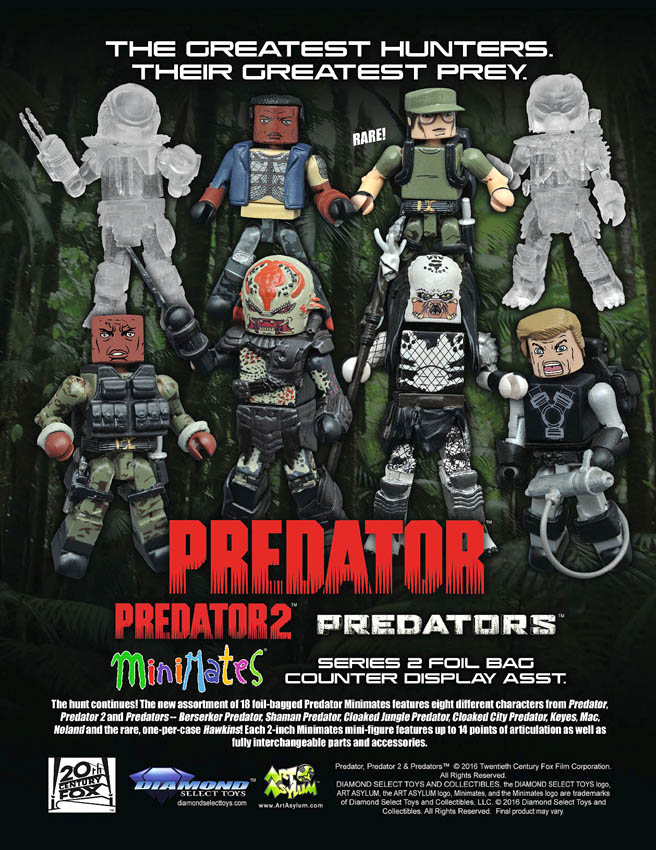 Predator 1-2 (Previews 331, april 2016)