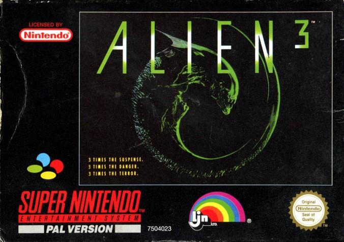 Alien 3 SNES A