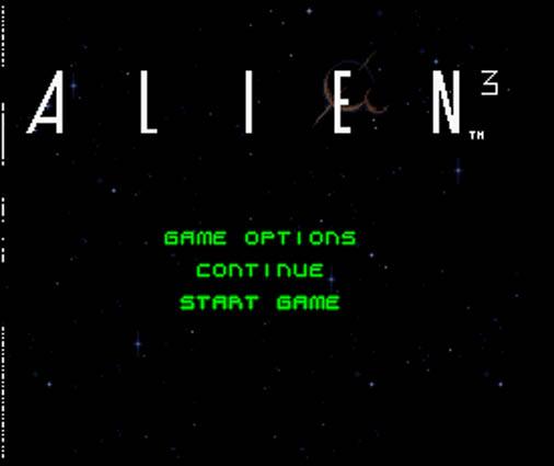 Alien3 Snes E