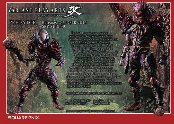 Predator Square Enix (Previews 323, august 2015)