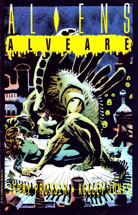 Cover di Kelley Jones