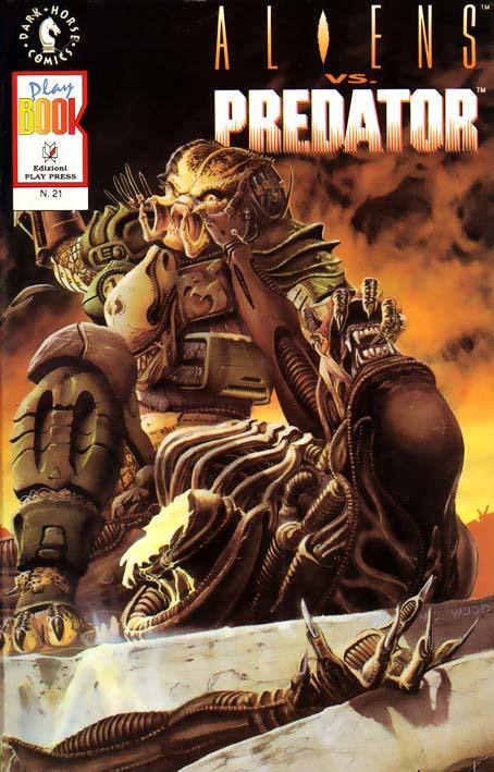 Storia dei fumetti alieni 4. Alieni contro Cacciatori