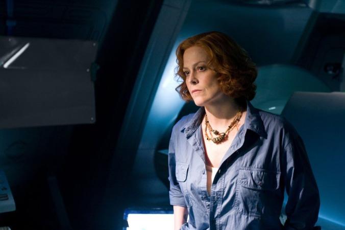 Sigourney Weaver, diretta di nuovo da Cameron, si è dovuta fare roscia per non far pensare a Ripley!