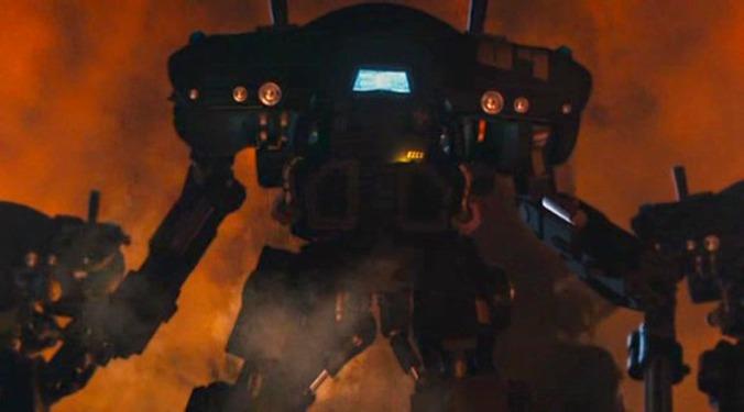 L'armatura/Powerloader del film Starship Troopers 3 (2008)