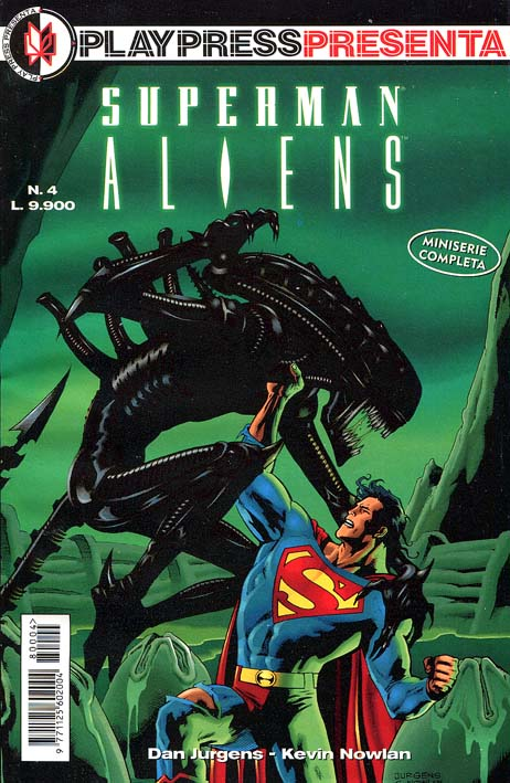 Cover di Dan Jurgens & Kevin Nowlan