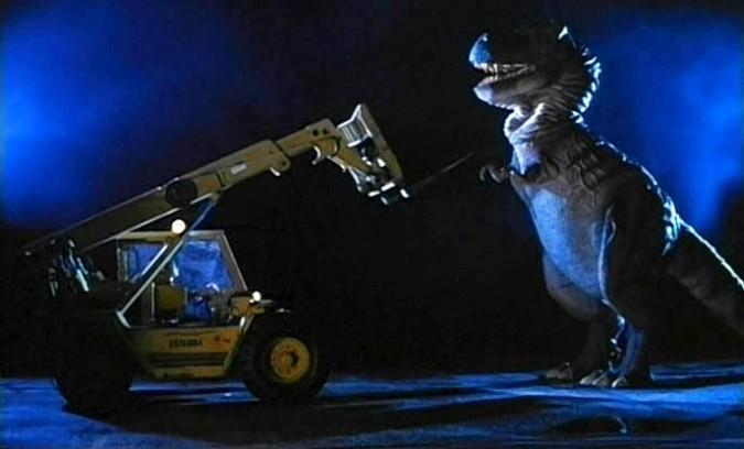 Aliens vs Carnosaur!