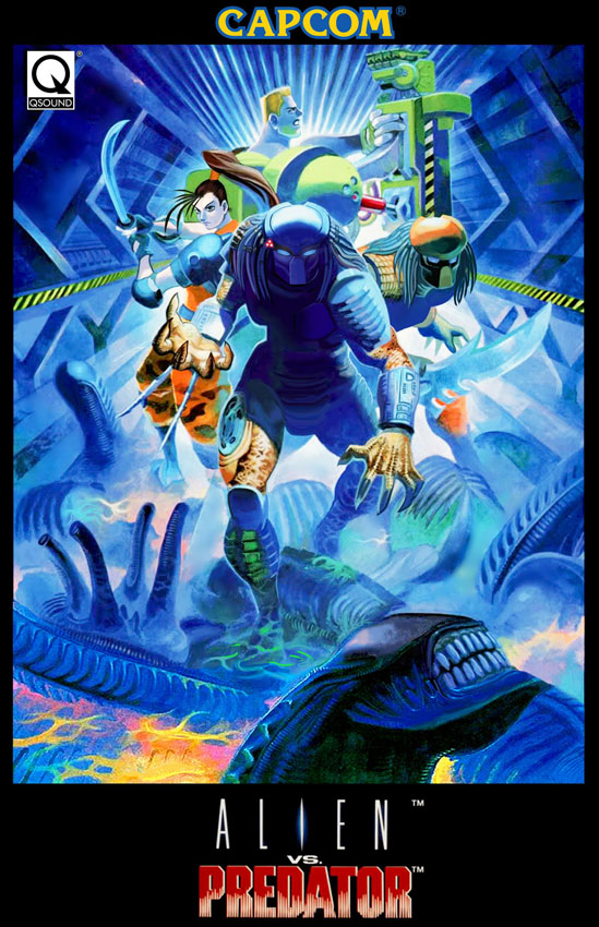 [1994] Alien vs Predator (Capcom)