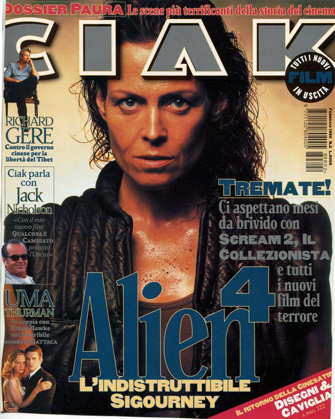 """[1998-02] Alien 4 su """"CIAK"""""""