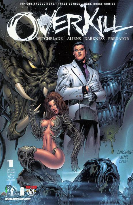 [2000-12] Witchblade Aliens Darkness Predator: Overkill