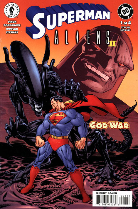 [2000-05] Superman vs Aliens II: Godwar