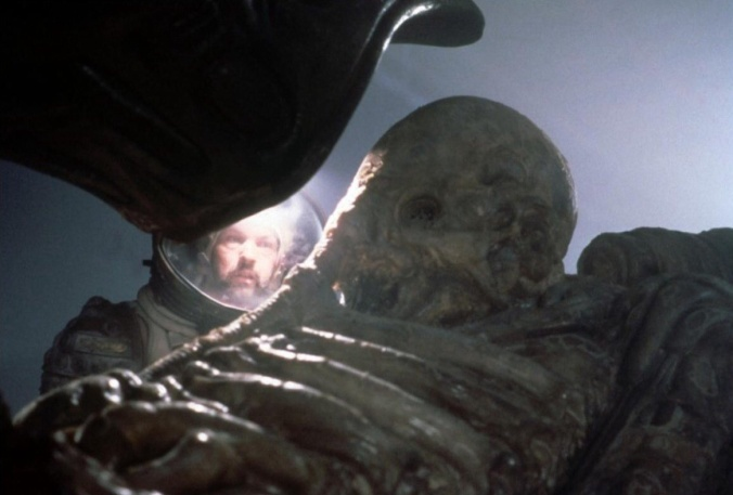 Pilot (o Space Jockey) dal film Alien (1979)