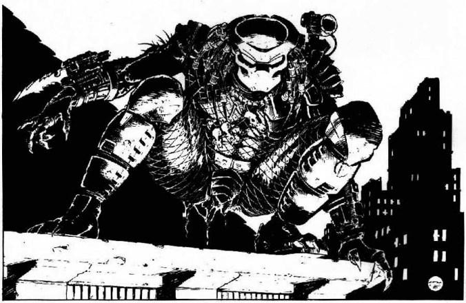 Primissimo Predator a fumetti, firmato Chris Warner