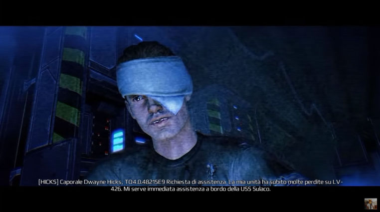 [2013-07] Michael Biehn su Colonial Marines