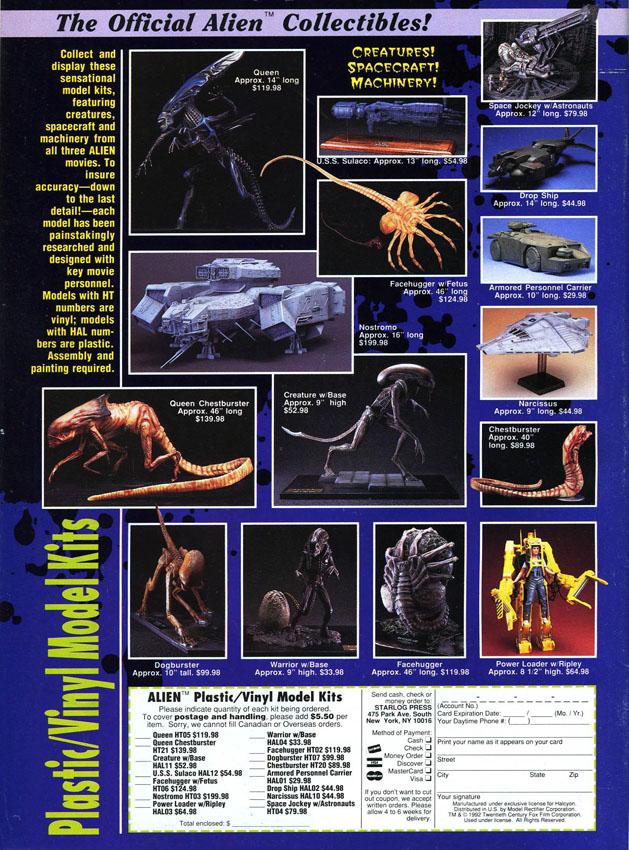 "[1993-05] Merchandising su ""Fangoria"" 122"