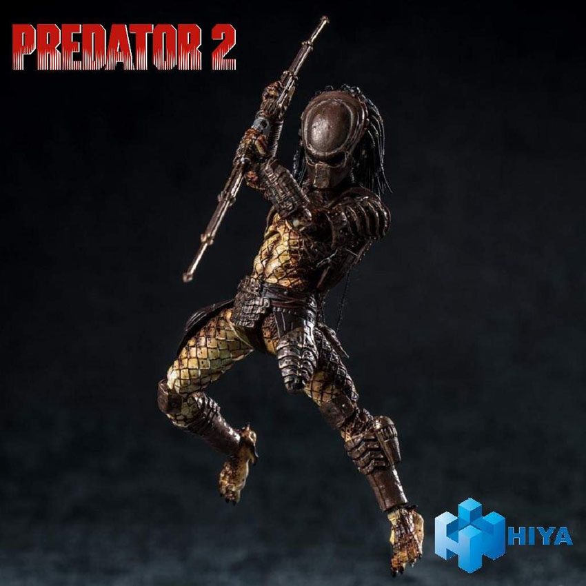 Hiya Toys: Predator 2 (elenco)
