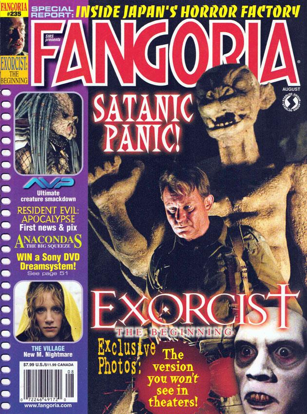"""[2004-08] AVP su """"Fangoria"""" 235"""