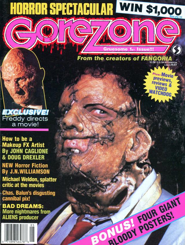 """[1988-05] Gale Anne Hurd su """"GoreZone"""" 1"""