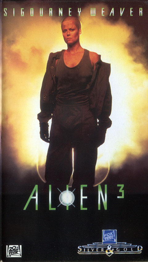 [1993] ALIEN ³ (VHS Silver & Gold)