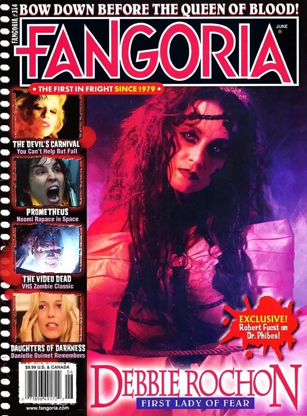 "[2012-06] Noomi Rapace su ""Fangoria"" 314"