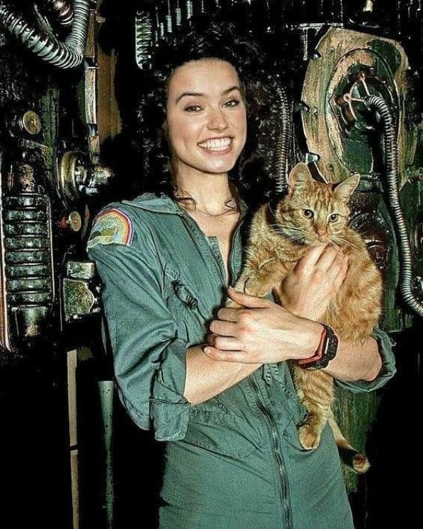 Daisy Ridley come Ripley
