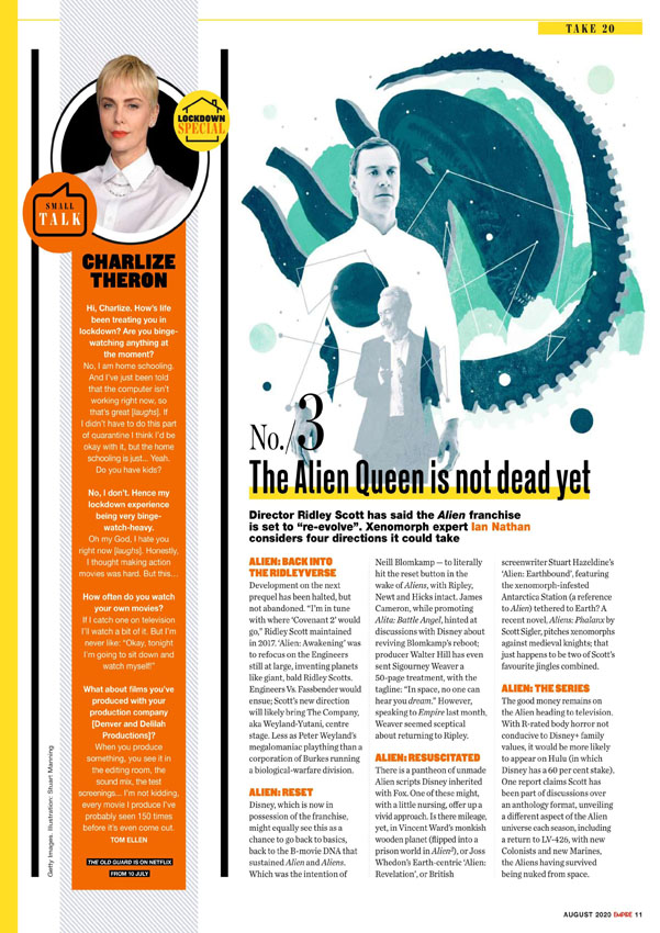 [2020-08] Speculazioni sul futuro della Alien Saga