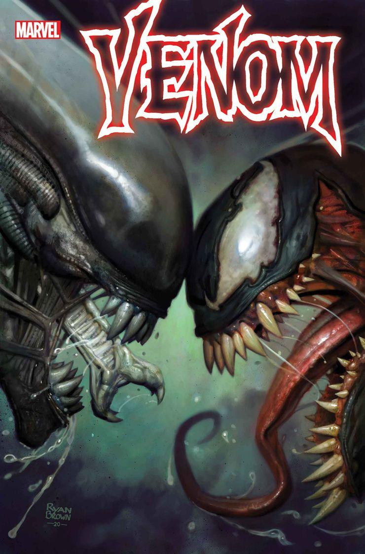 Marvel presenta le Aliens Variant Cover 2021