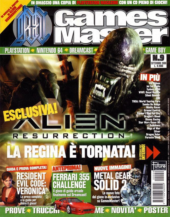 """[2000-09] Resurrection su """"Games Master"""""""