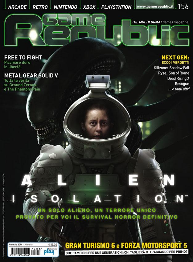 """[2014-01] Isolation su """"Game Republic"""" 156"""