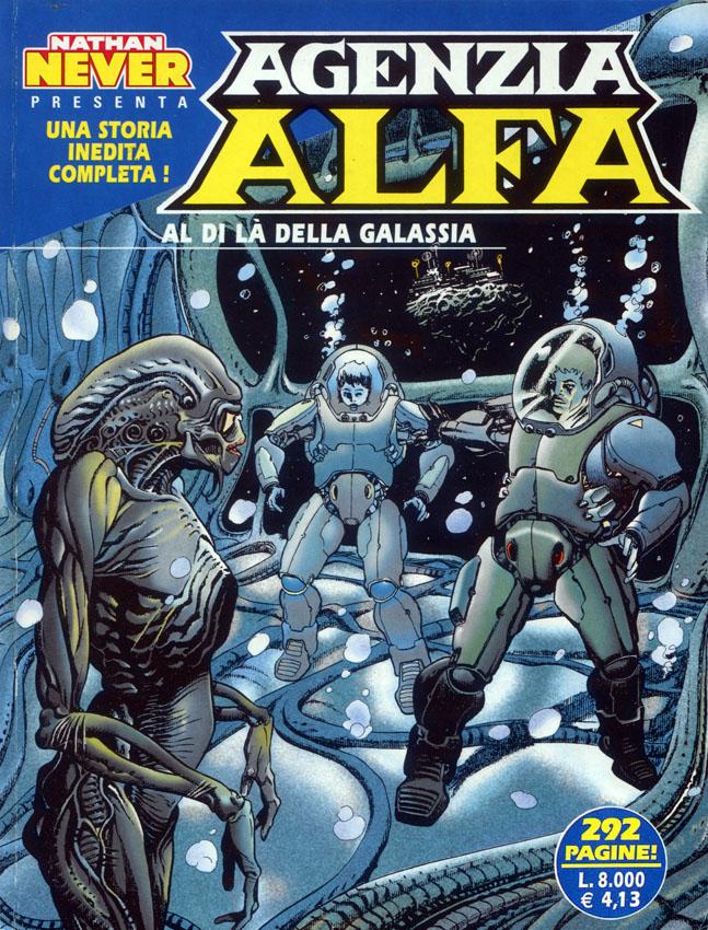 Citazioni aliene. Agenzia Alfa 5 (2000)