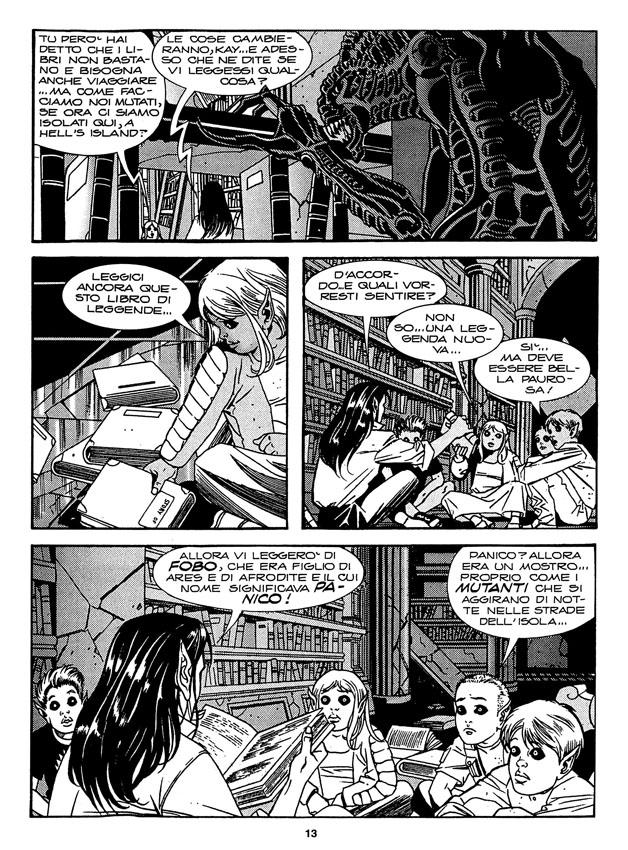 Citazioni aliene. Agenzia Alfa 10 (2003)