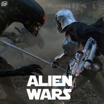 Alien su ArtStation (1) Alien Wars