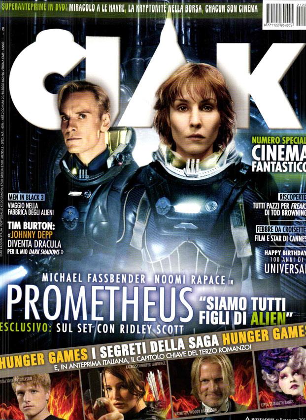 "[2012-05] Prometheus su ""CIAK"""