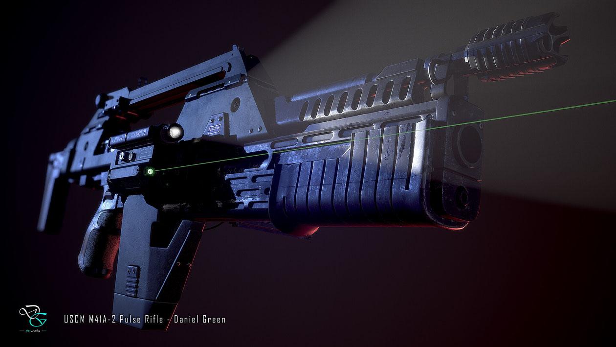 Alien su ArtStation (3) Daniel Green