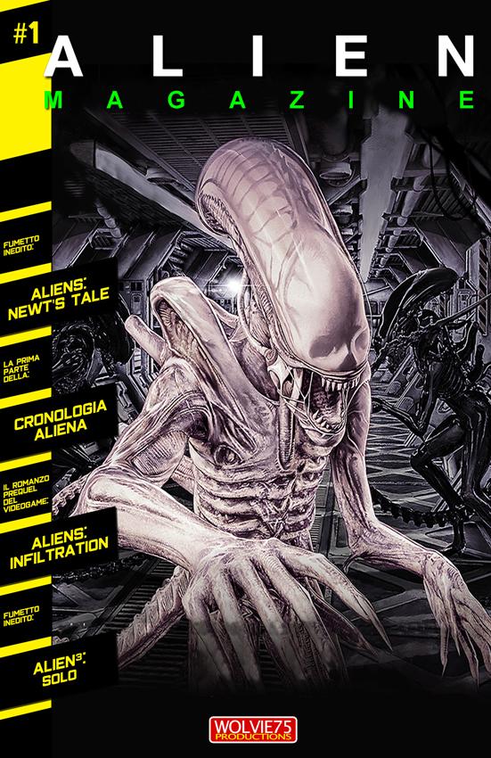 Alien Magazine 1 (2021) La prima in Italia!