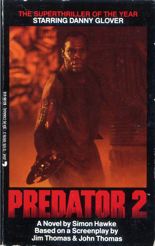 [1990-12] Predator 2 (Novelization)