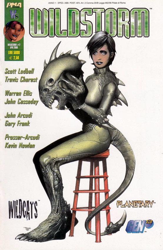 Citazioni aliene. Wildstorm 2 (2000)